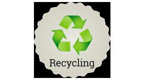 Ein Weidenzaun ist recyclbar